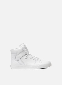 Supra - Vaider, White/White/Red
