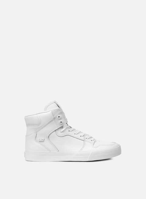 sneakers supra vaider white white red