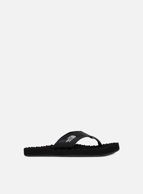 sneakers the north face base camp flipflop black black