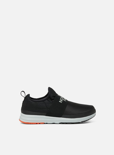 sneakers the north face cadman nse moc tnf black scarlet ibis