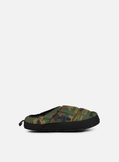 The North Face - Nuptse Tent Mule III, Black Forest Woodland Camo