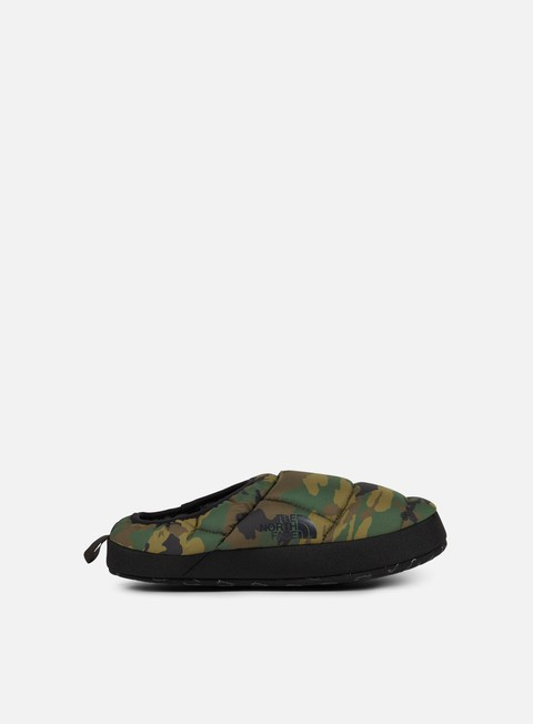 sneakers the north face nuptse tent mule iii black forest woodland camo