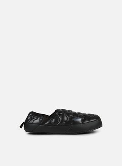 The North Face - Thermoball Traction Mule IV, Shiny TNF Black/Dark Shadow Grey 1