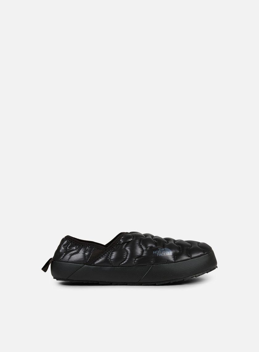 The North Face - Thermoball Traction Mule IV, Shiny TNF Black/Dark Shadow Grey