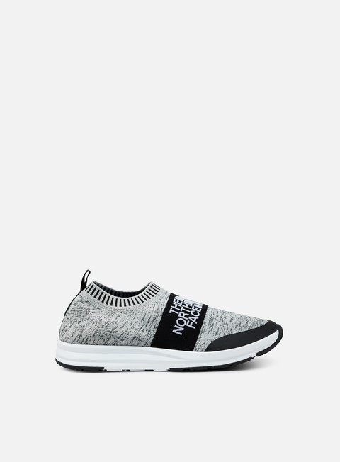 sneakers the north face traction nse knit heather grey tnf white