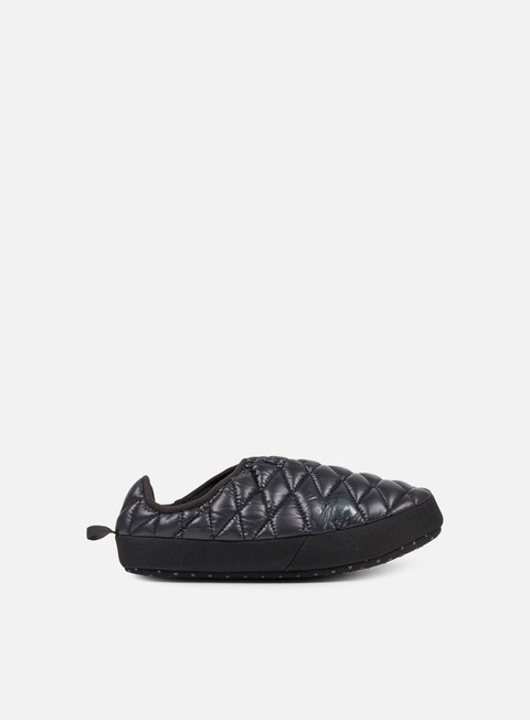 sneakers the north face wmns thermoball tent mule iv shiny tnf black