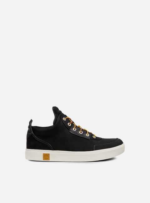 sneakers timberland amherst high top chukka jet black