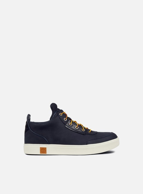 sneakers timberland amherst high top chukka navy