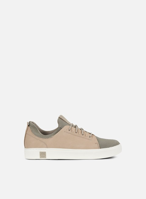 sneakers timberland amherst leather trainer pure cashmere