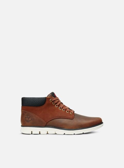 sneakers timberland bradstreet leather chukka red brown