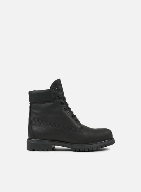 sneakers timberland icon 6 inch premium boot black full grain