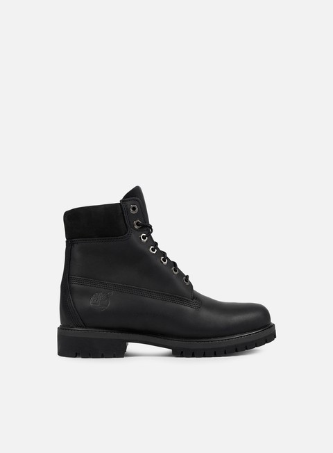 sneakers timberland icon 6 inch premium boot black smooth