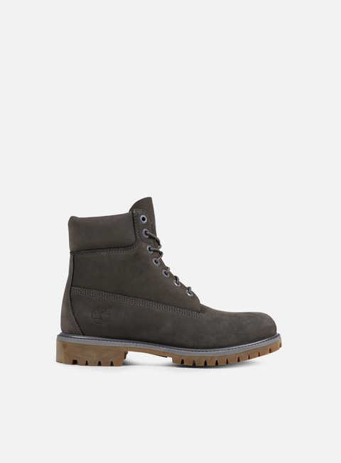sneakers timberland icon 6 inch premium boot grey nubuck monochromatic