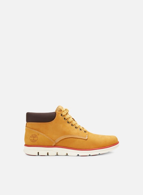 Outlet e Saldi Sneakers Alte Timberland Leather Chukka