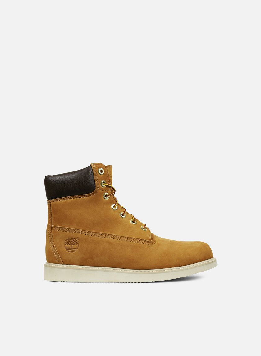 Timberland - Newmarket 6 Inch Wedge Waterproof Boot, Wheat Nubuck