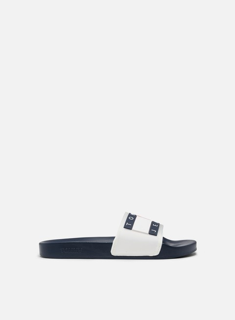 Outlet e Saldi Ciabatte Tommy Hilfiger Translucent Flag Pool Slide