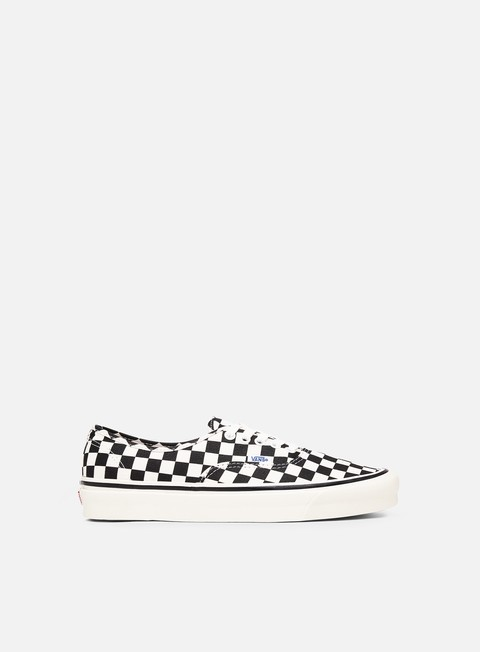 sneakers vans authentic 44 anaheim factory black check