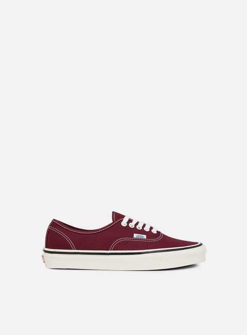 sneakers vans authentic 44 anaheim factory og burgundy