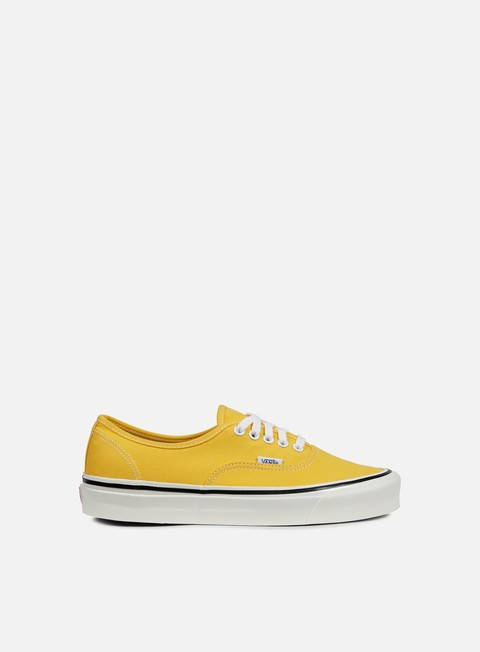 sneakers vans authentic 44 anaheim factory yellow