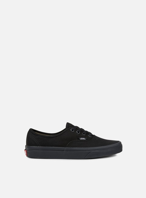 sneakers vans authentic black black