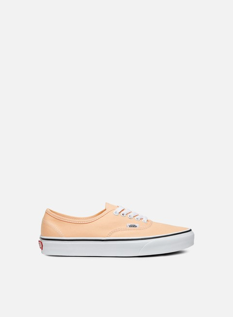 sneakers vans authentic bleached apricot true white