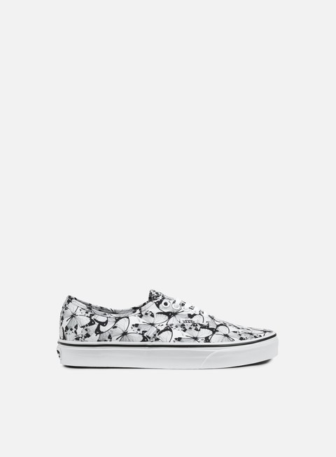 sneakers vans authentic butterfly true white black