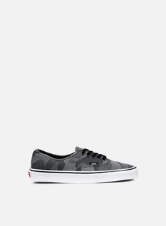 Vans - Authentic Camo Jacquard, Black/True White 1