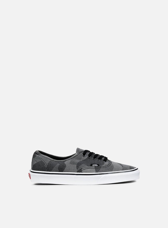 Vans - Authentic Camo Jacquard, Black/True White