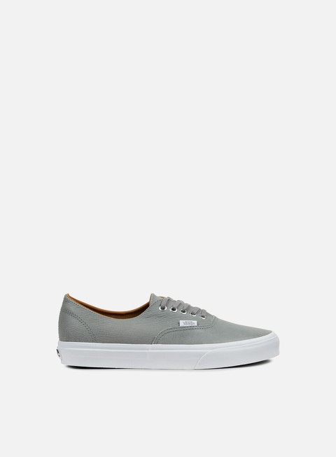 sneakers vans authentic decon premium leather wild dove true white