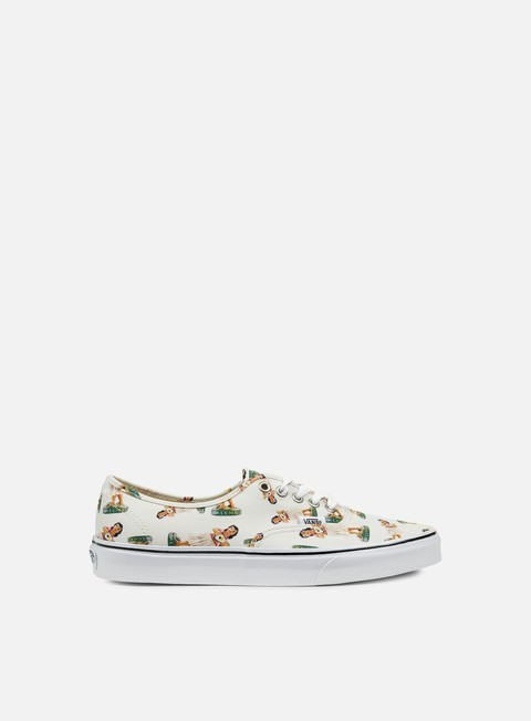 sneakers vans authentic digi hula classic white true white