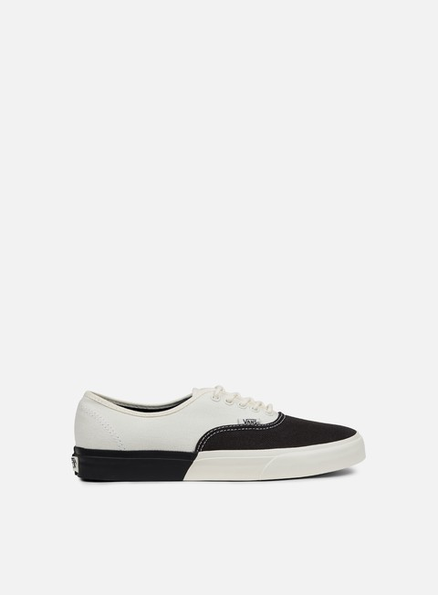 sneakers vans authentic dx blocked classic white black