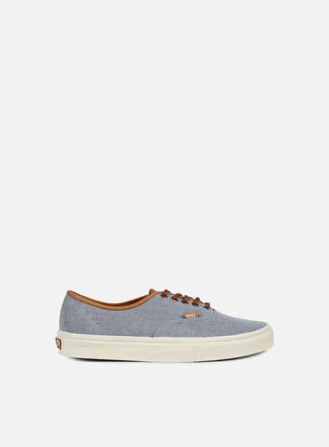 sneakers vans authentic dx brushed blue mirage turtledove