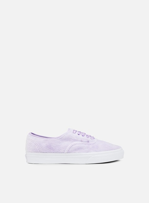 sneakers vans authentic furry pastel lilac