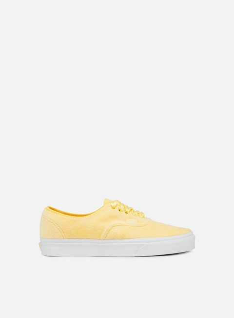 sneakers vans authentic furry sunshine