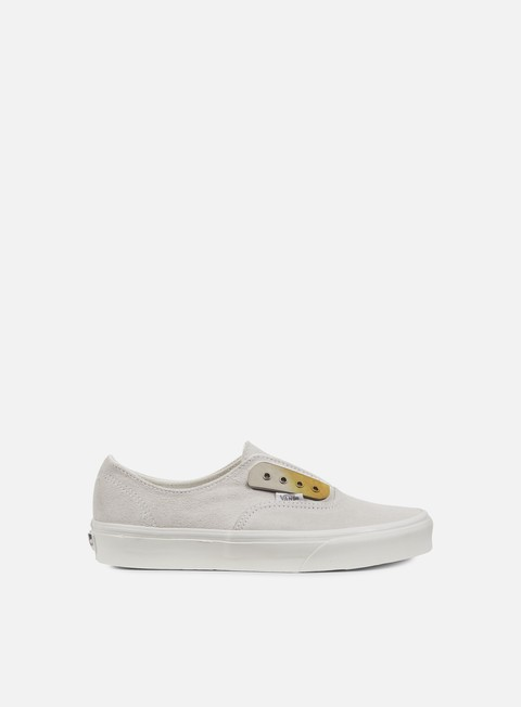 sneakers vans authentic gore metal eyeplate blanc de blanc