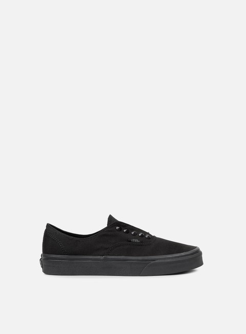 sneakers vans authentic gore studs black black