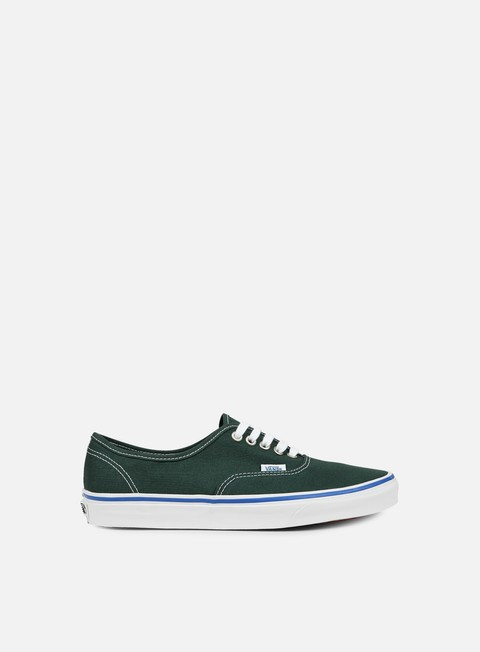 sneakers vans authentic green gables true white
