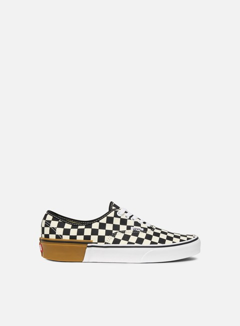sneakers vans authentic gum block checkerboard