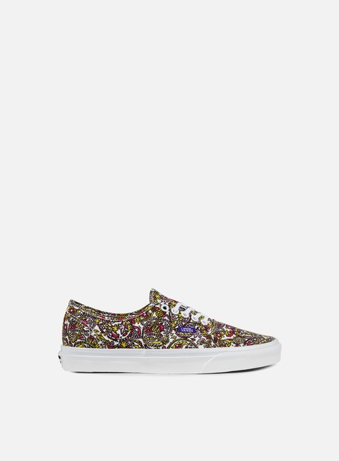 sneakers vans authentic liberty paisley true white