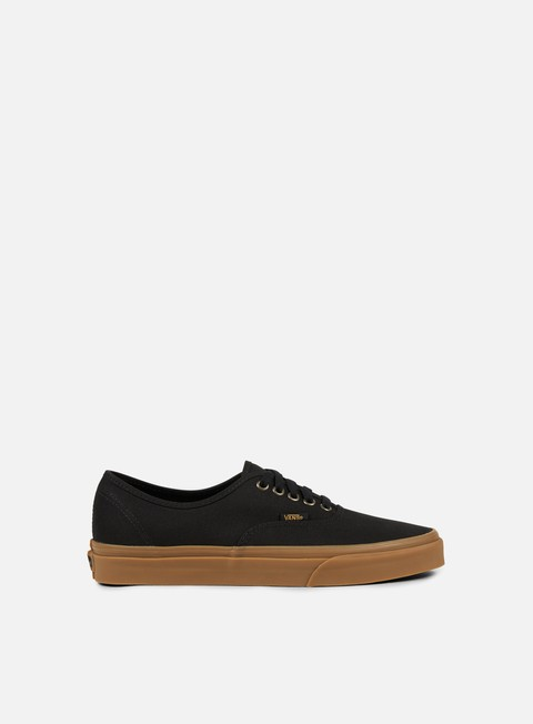 sneakers vans authentic light gum black