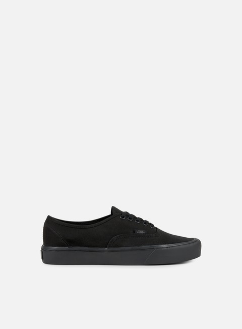 sneakers vans authentic lite black black