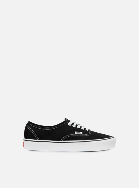 sneakers vans authentic lite black white