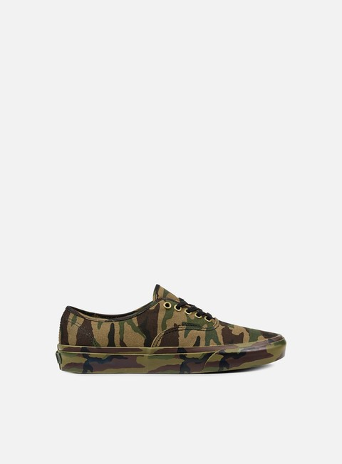 sneakers vans authentic mono print classic camo