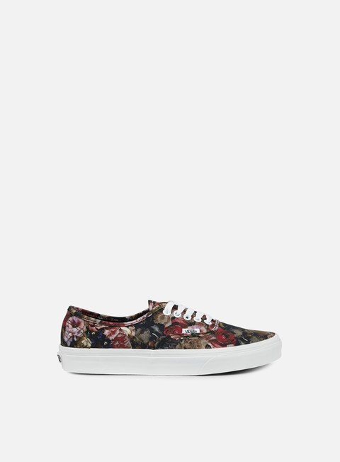 sneakers vans authentic moody floral black true white