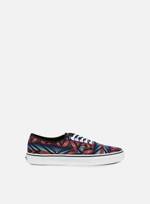 sneakers vans authentic moroccan geo black true white