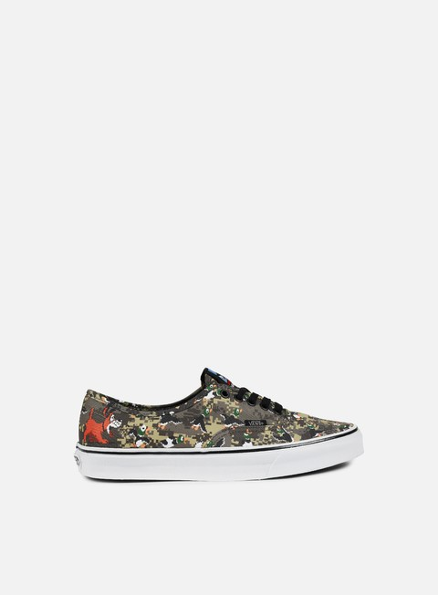 Sale Outlet Low Sneakers Vans Authentic Nintendo