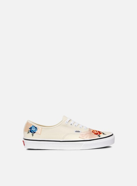 sneakers vans authentic satin patchwork classic white true white