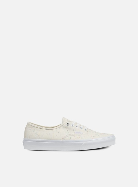 sneakers vans authentic speckle jersey cream true white