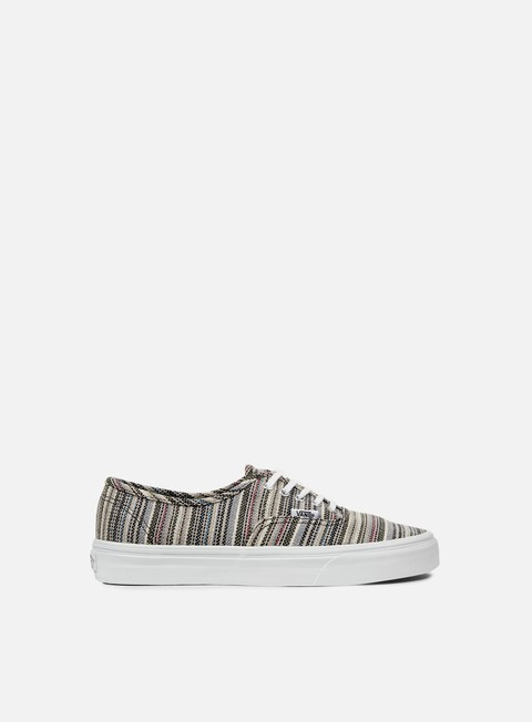 Outlet e Saldi Sneakers Basse Vans Authentic Textile Stripes