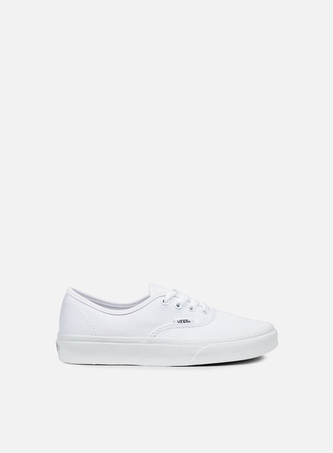 sneakers vans authentic true white